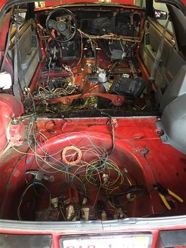 mustang wiring harness complete on 1982 mustang 4 speed transmission, 1982  mustang fuel lines,