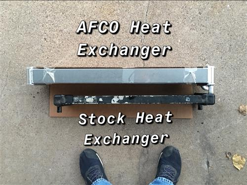 Dual Pass Heat Exchanger
