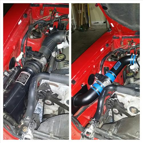 Blackout Cold Air Intake Kit