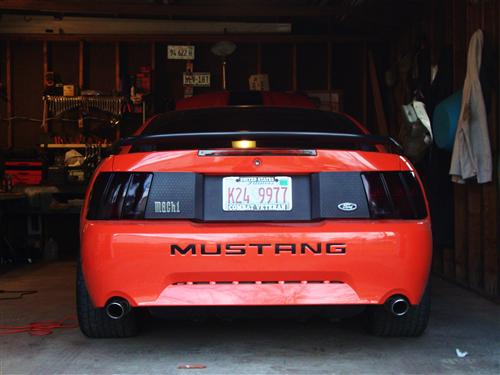 Mustang Mach 1 Honeycomb Trunk Decklid Panel 99 04 105051