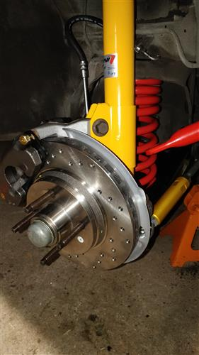 Yellow Shock and Strut Kit, Adjustable