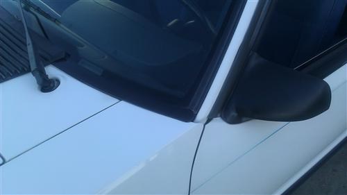 Lower Windshield Molding Pair