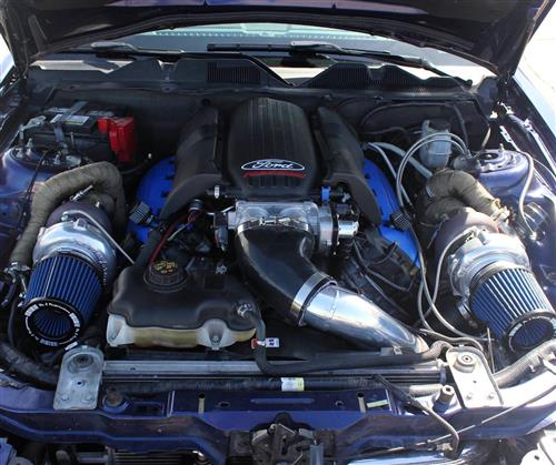 On 3 Performance Mustang Coyote Twin Turbo Kit (11-14) 5 0