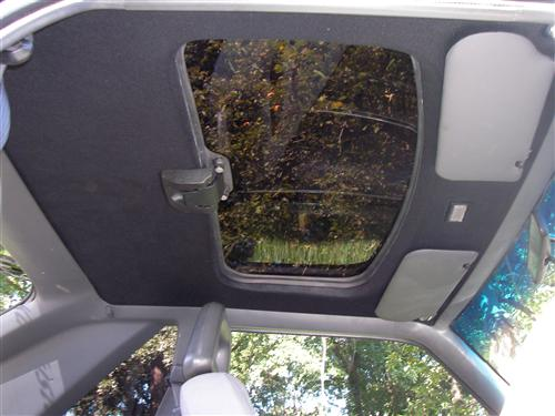 Tmi Mustang Cloth Headliner W Abs Board Black 83 93