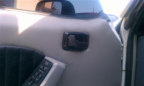 Deluxe Inner Door Handle & Bezel Kit