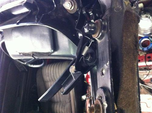 Convertible Top Latch Assembly - LH