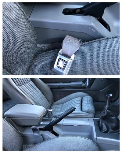 Front Seat Belt Sleeve Kit