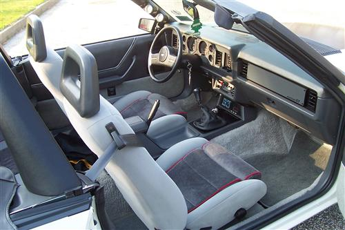 GT Cloth Seat Upholstery