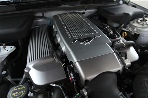 Ford Performance Mustang Quot Powered By Ford Quot Intake Cover