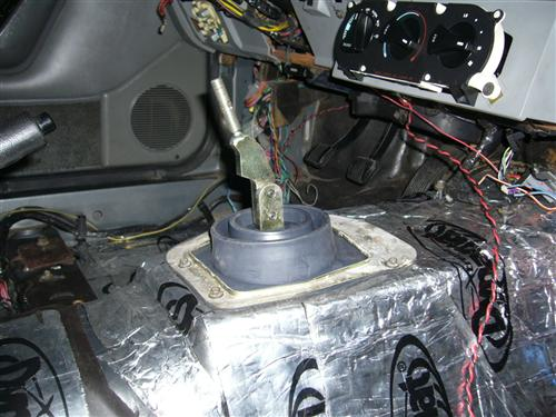Lower Shift Boot w/o Trim Ring
