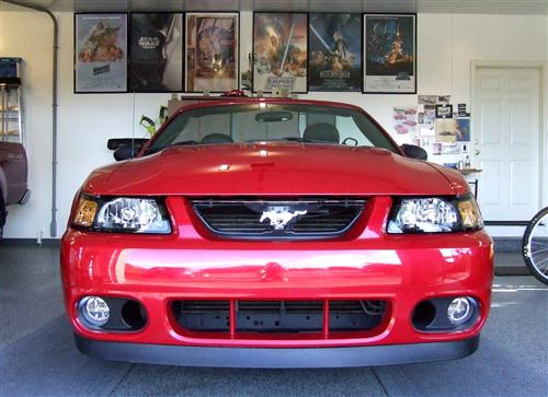 Mustang Cobra Front Bumper Cover Installation Kit (03-04)