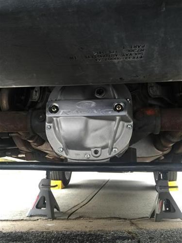 Rear Axle Girdle/Differential Cover