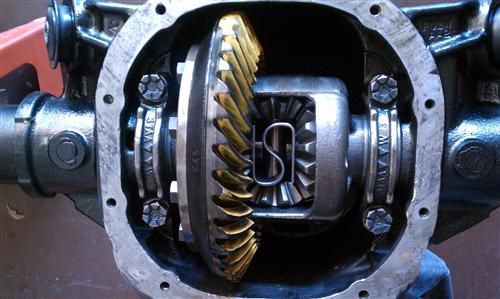 how to tell the gear ratio of a rear end