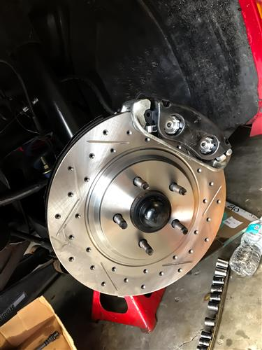 "13"" Cobra Style Front Brake Kit w/ C-Tek Rotors"