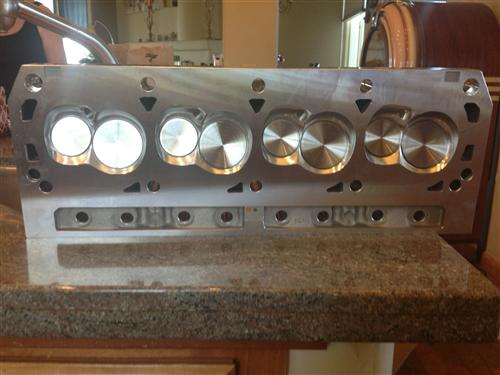 Twisted Wedge 170 Cylinder Heads