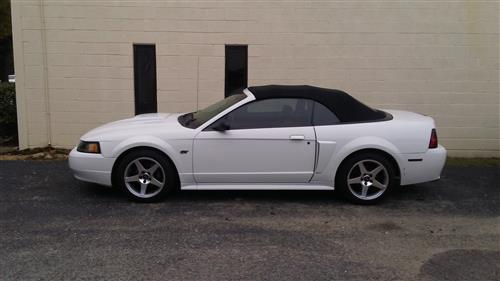 2003 Cobra Style Wheel Kit - 17x9
